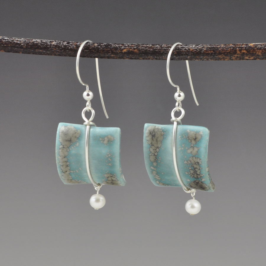 Turquoise Sail Earrings